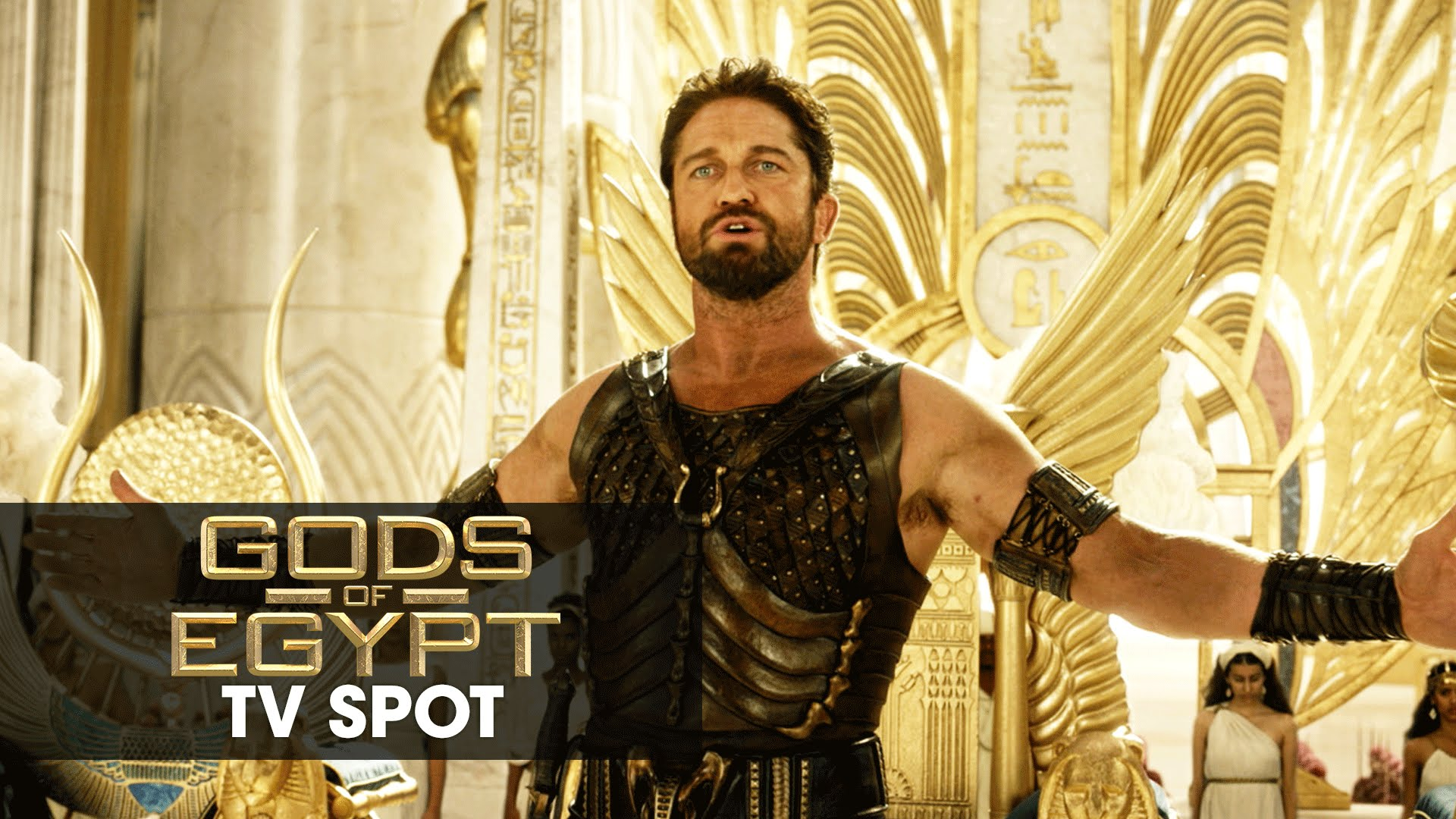 "Gods of Egypt (2016 Movie - Gerard Butler) Official TV Spot – ""Adventure"""