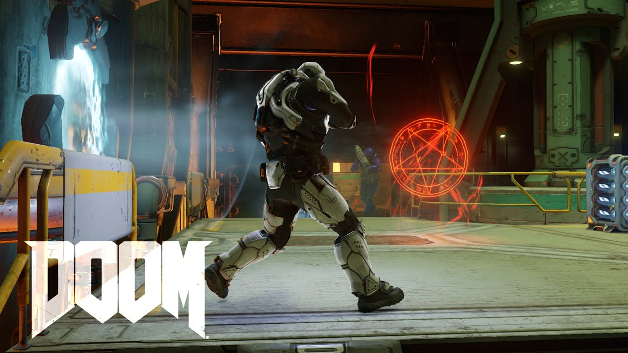 DOOM Mehrspielermodus Closed Alpha - Gameplay Video