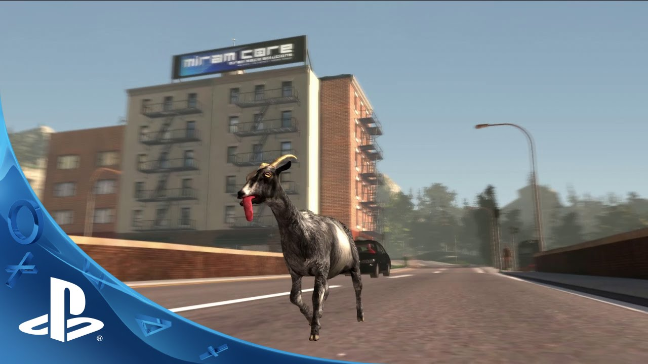 Goat Simulator - Launch Trailer | PS4
