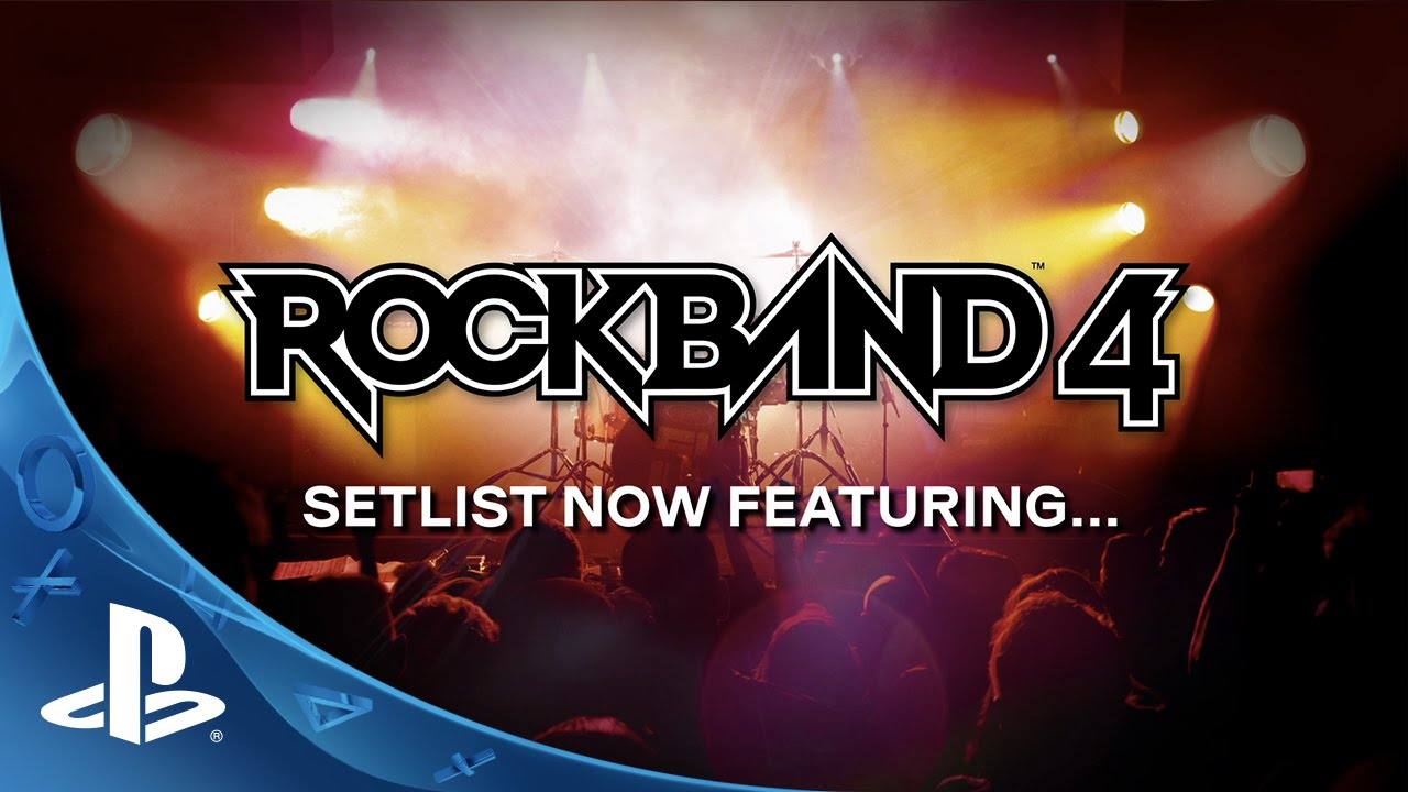 Rock Band 4 - Setlist Reveal Trailer | PS4