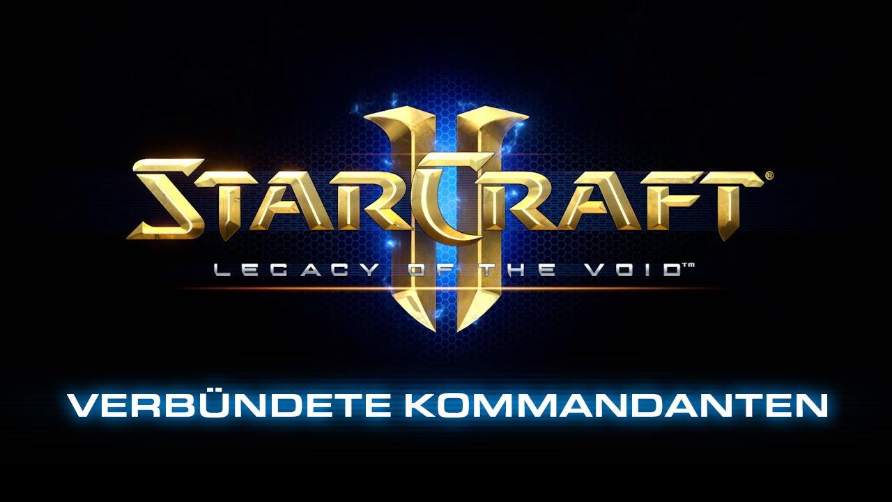 StarCraft II: Legacy of the Void – Vorschau auf den Modus Verbündete Kommandanten (DE)
