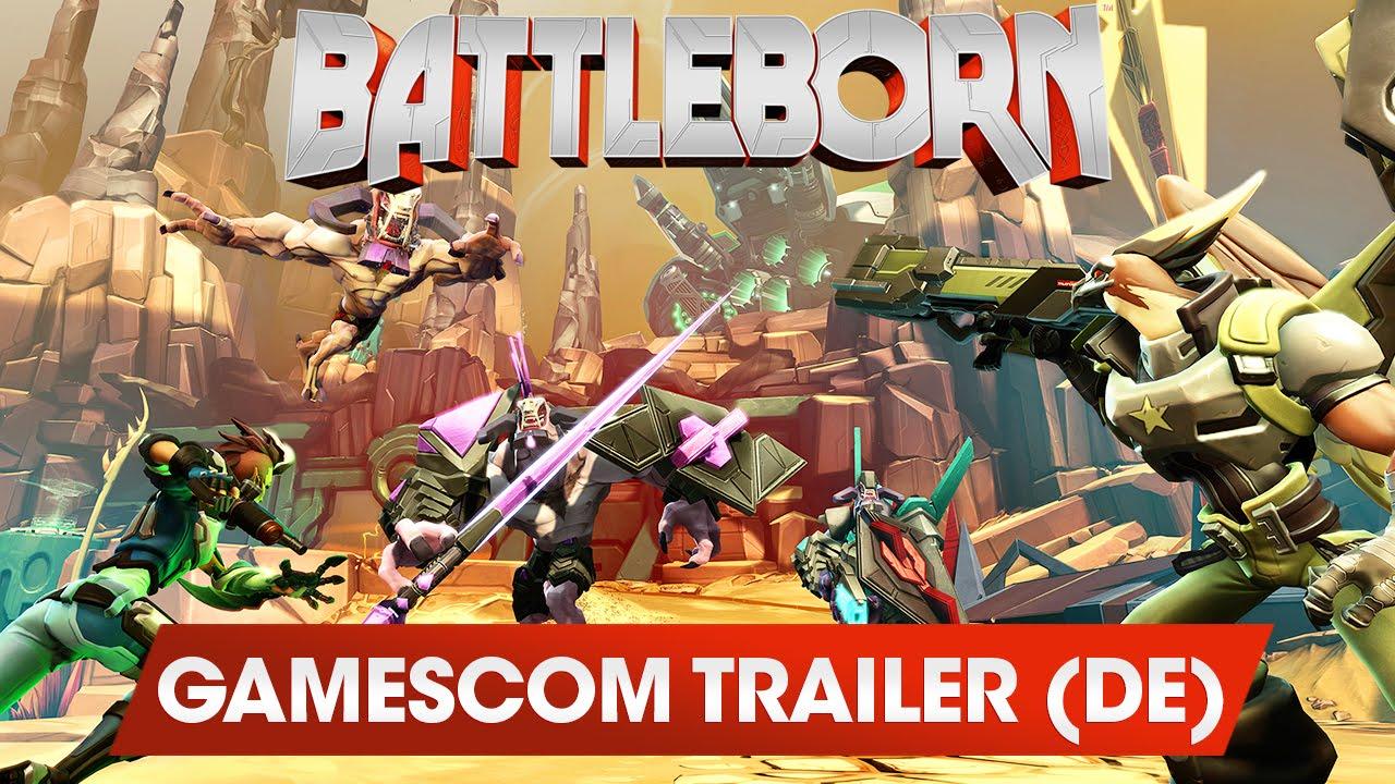 Battleborn: Ich kann nicht genug kriegen (Gamescom-2015-Trailer)