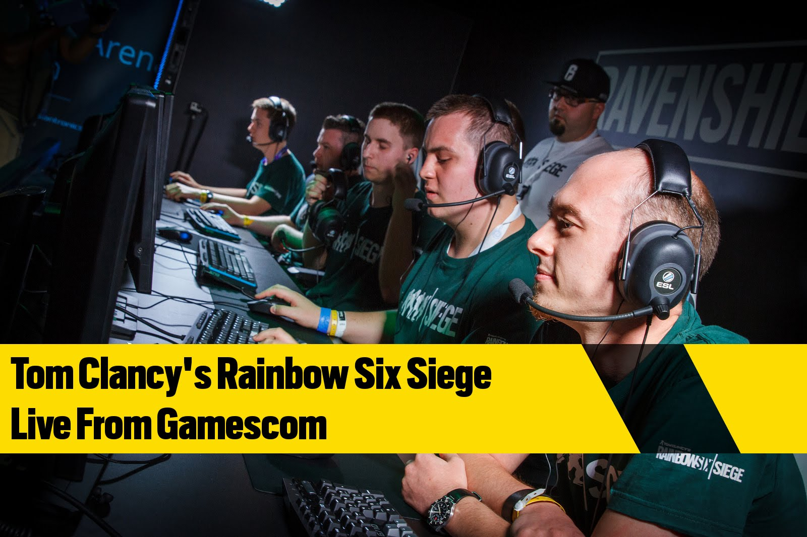 Tom Clancy's Rainbow Six Siege - Live from gamescom