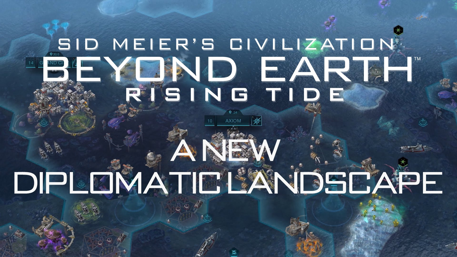 "Civilization: Beyond Earth-Rising Tide Featurette - ""A New Diplomatic Landscape"""