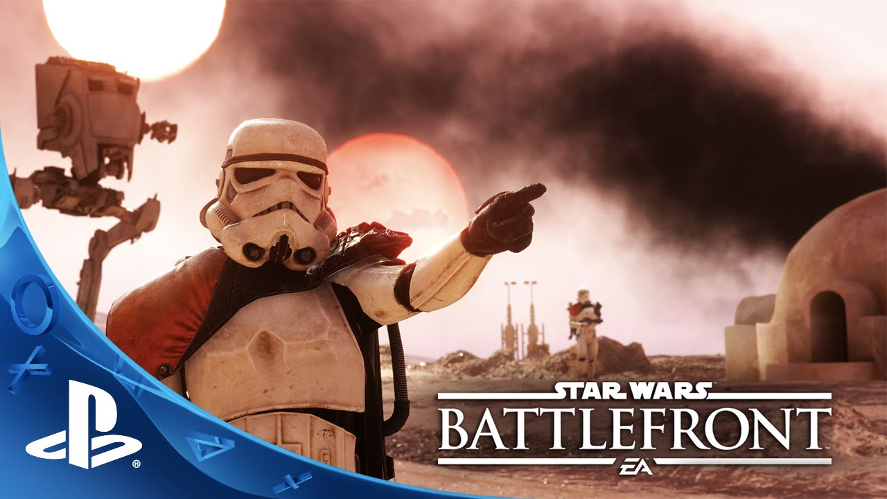 Star Wars Battlefront - Gameplay Launch Trailer | PS4