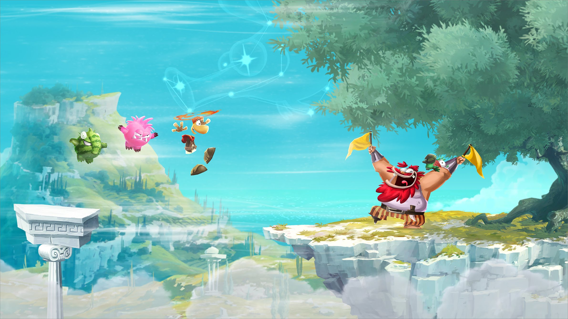 Rayman Adventures -- Launch Trailer - iOS & Android