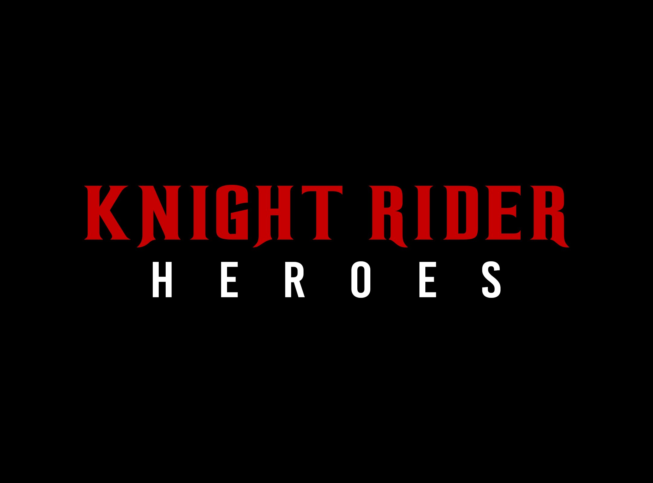 KNIGHT RIDER HEROES - OFFICIAL TRAILER - DAVID HASSELHOFF
