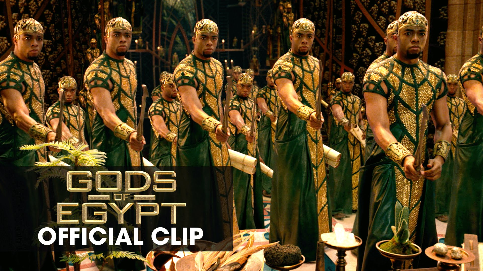 "Gods of Egypt (2016 Movie - Gerard Butler) Official Clip – ""I Outnumber You"""
