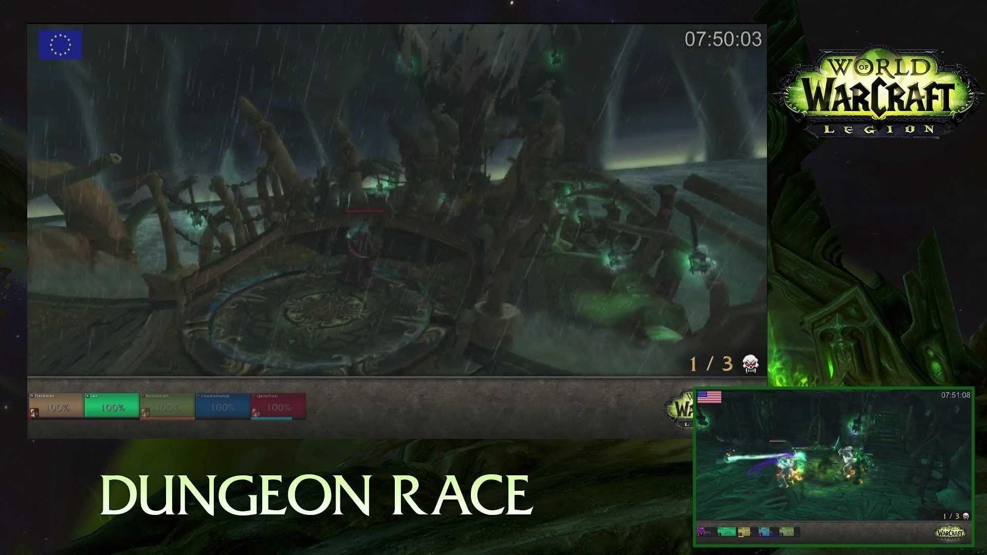 Legion Alpha Dungeon Race (First Aired Feb 11 2016)