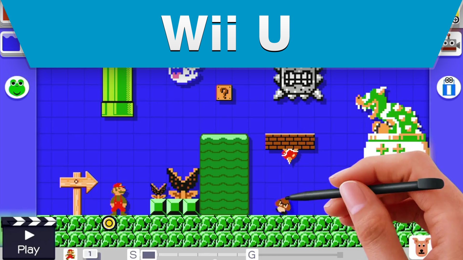 Super Mario Maker - Game Teaser