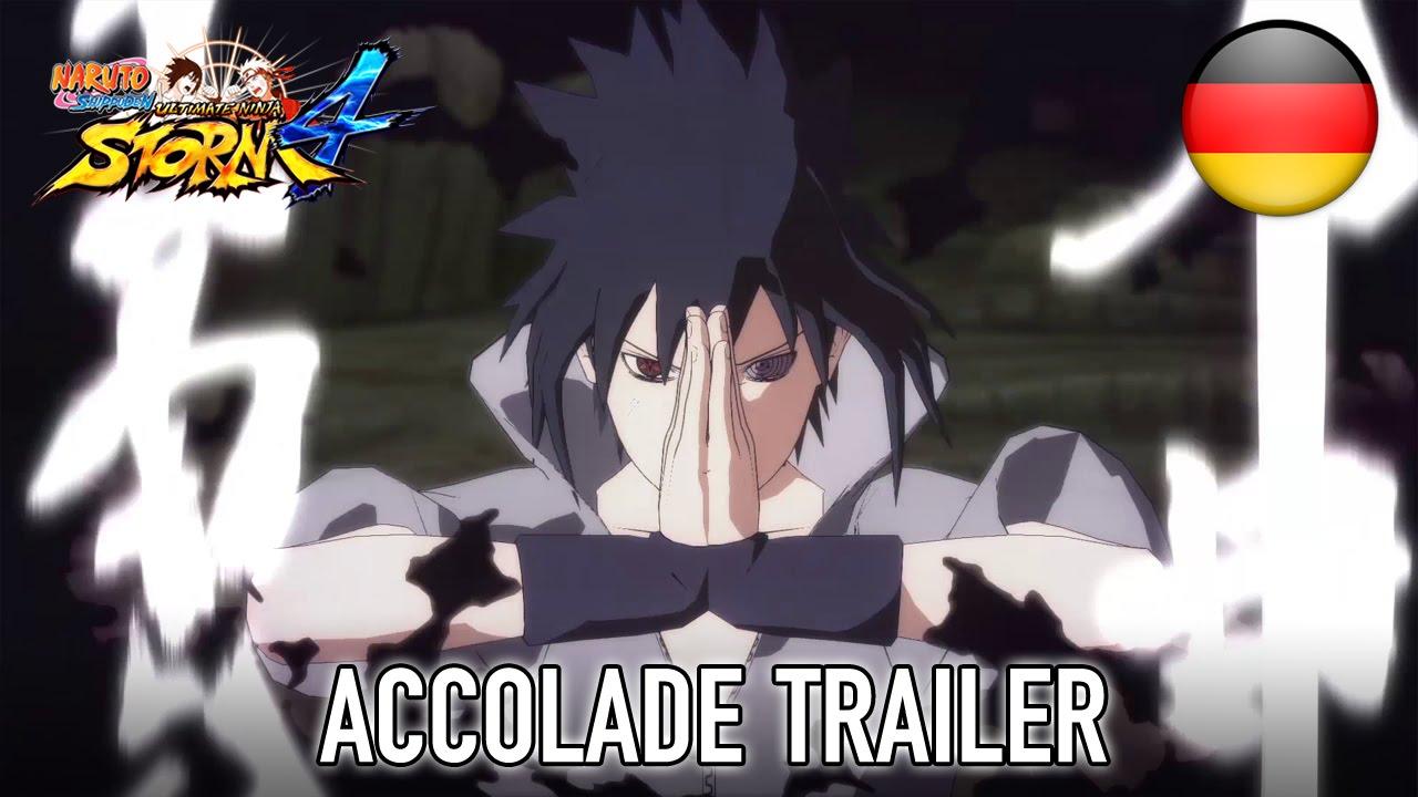 Naruto SUN Storm 4 - PS4/XB1/STEAM - Accolade Trailer (German)