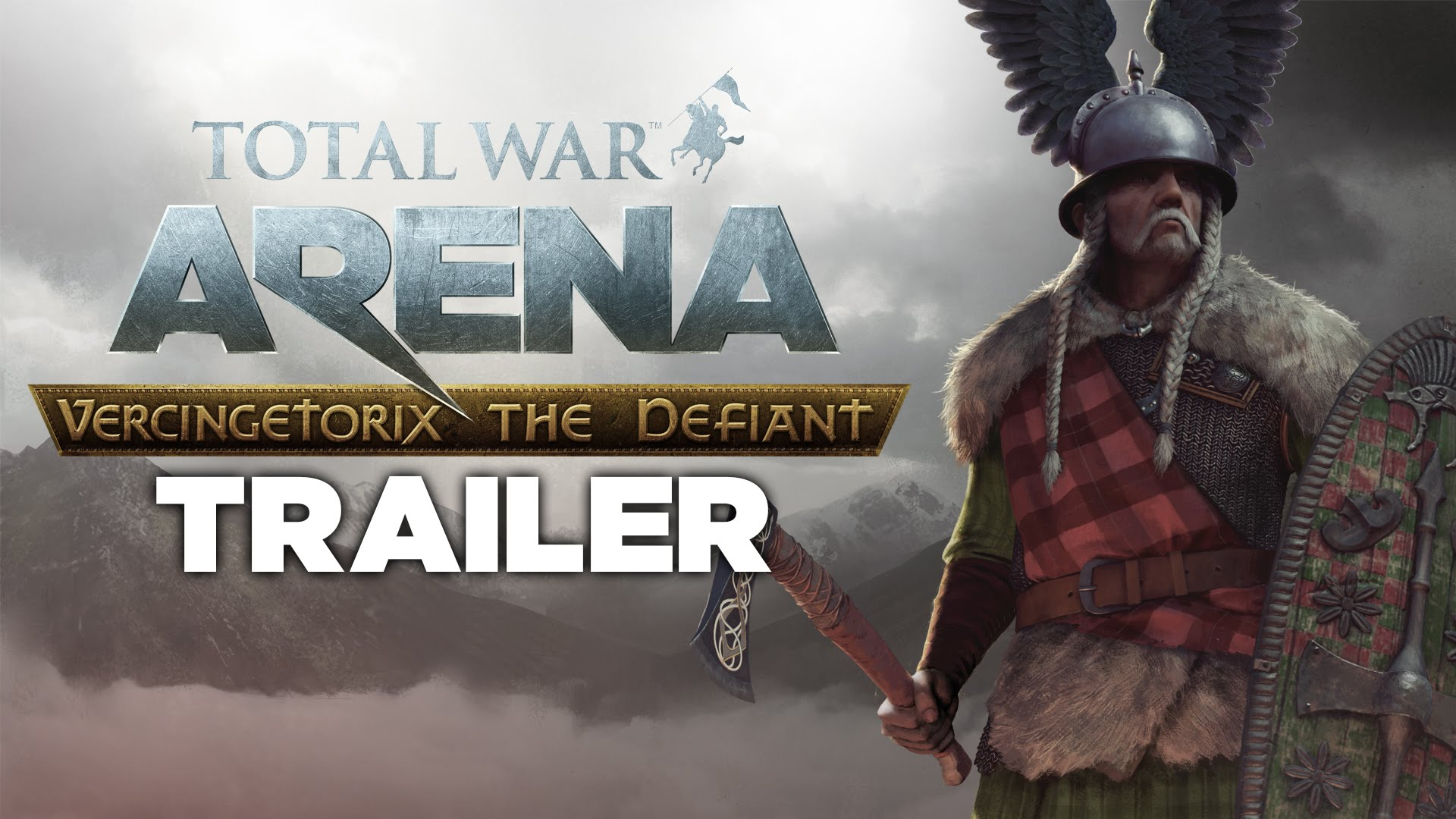 Total War: ARENA - Vercingetorix The Defiant trailer