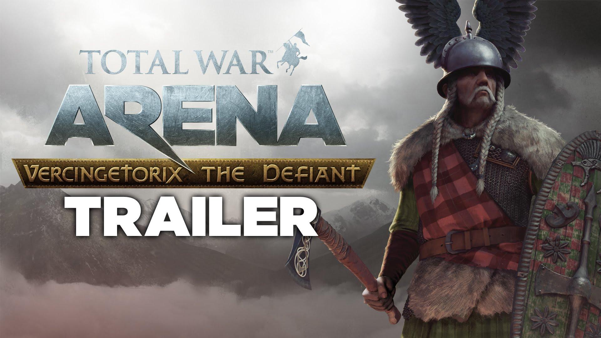 Total War: ARENA - Vercingetorix The Defiant trailer