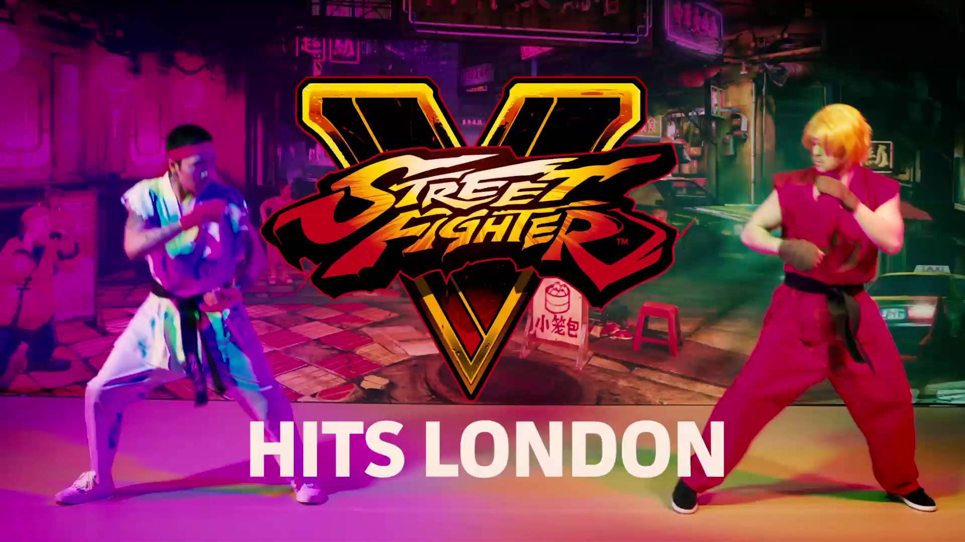 Street Fighter V Hits London - Live Action Performance