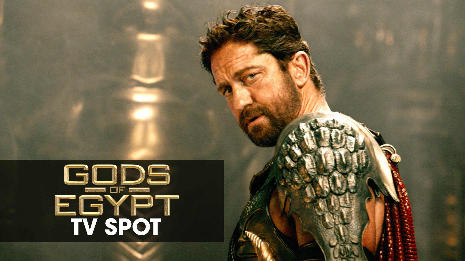 "Gods of Egypt (2016 Movie - Gerard Butler) Official TV Spot – ""Non-Stop"""