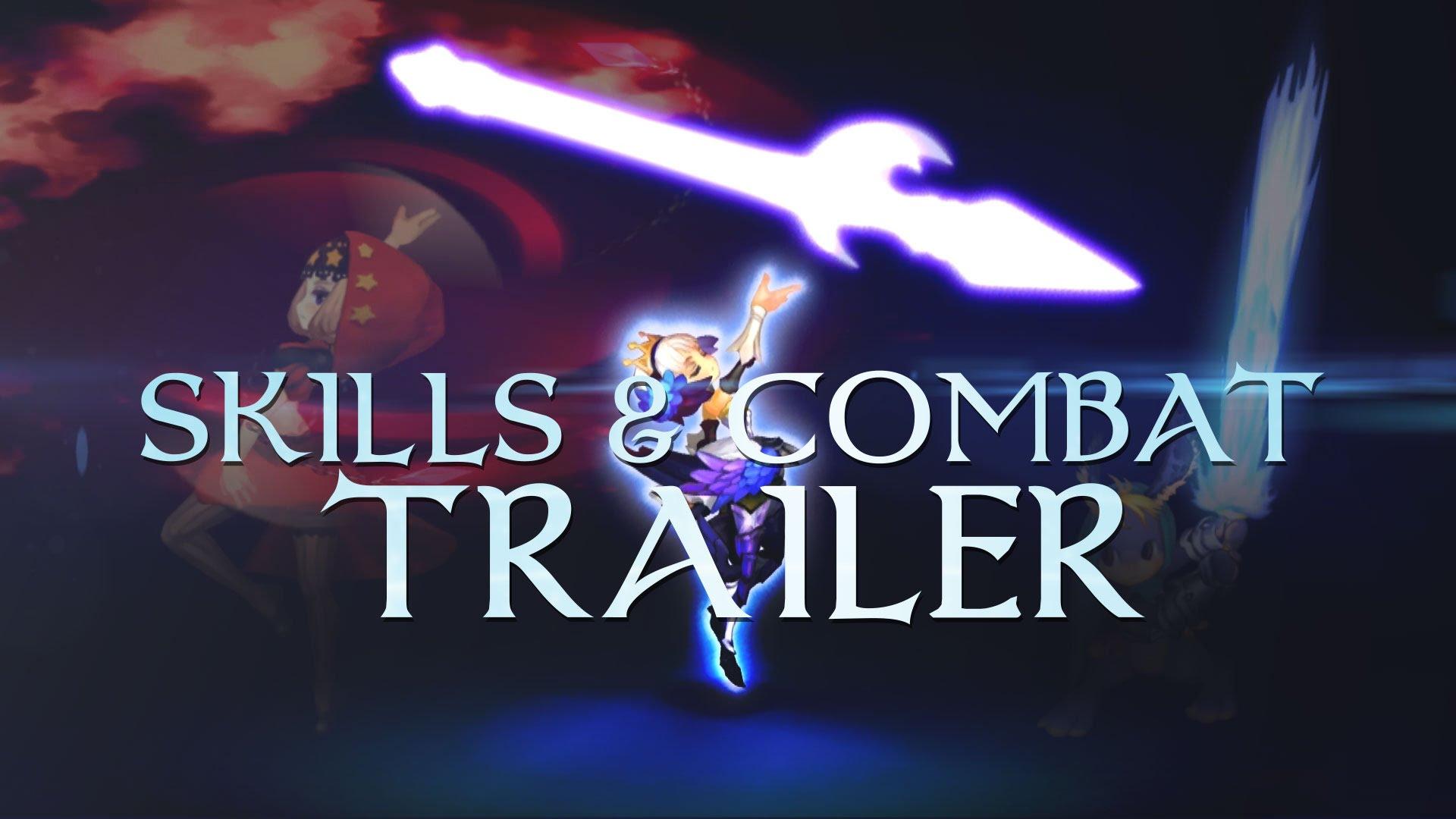 Odin Sphere Leifthrasir Skills & Combat Trailer