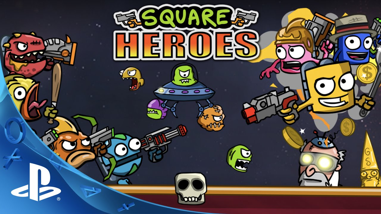 Square Heroes - Release Trailer