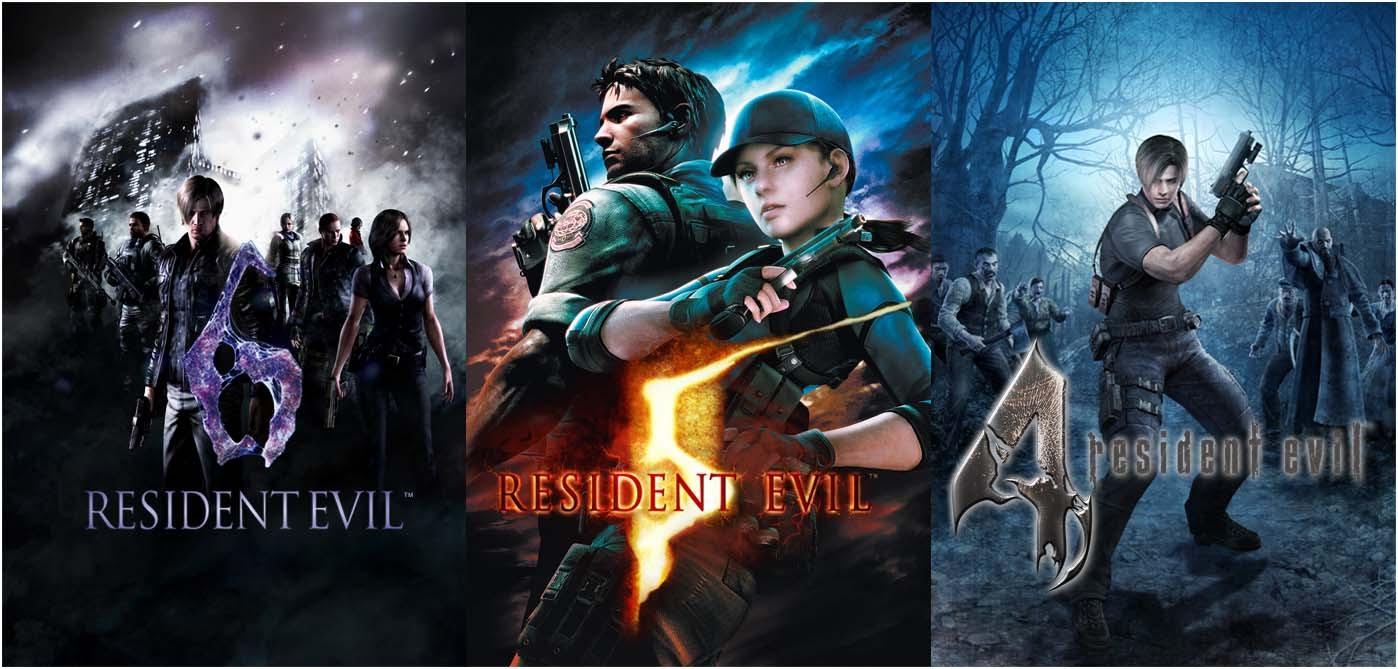Resident Evil 4,5,6 Next Gen Trailer