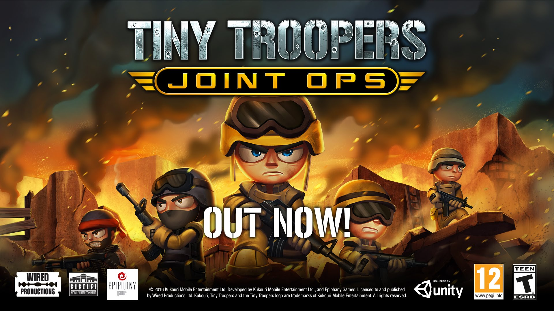 Tiny Troopers Joint Ops | Xbox One | Missions Trailer