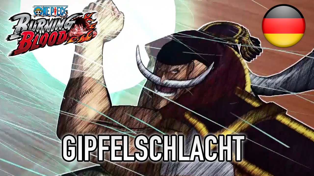 One Piece Burning Blood - Gipfelschlacht (German Story Trailer)