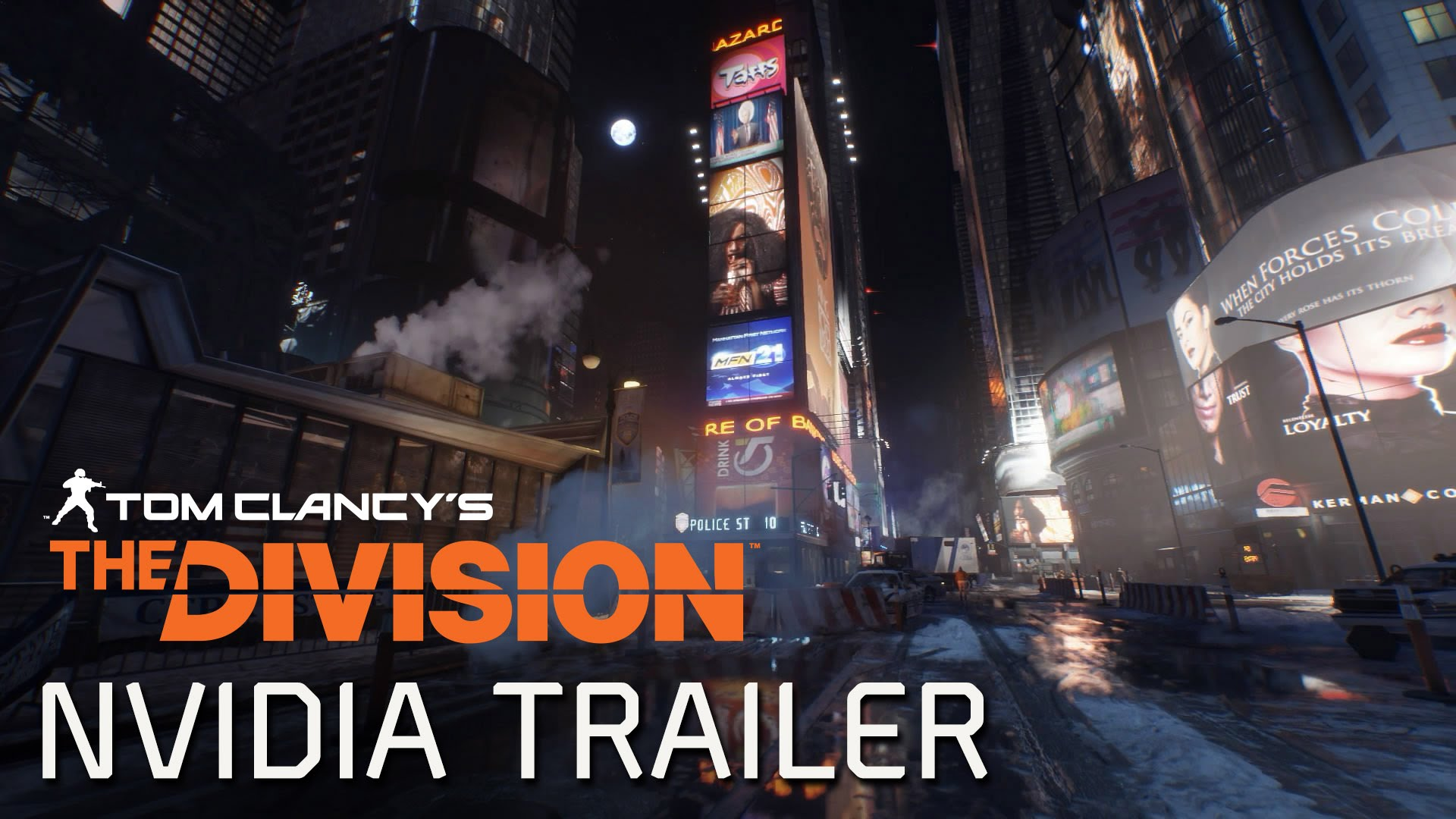 Tom Clancy's The Division - NVIDIA GameWorks Trailer [EUROPE]