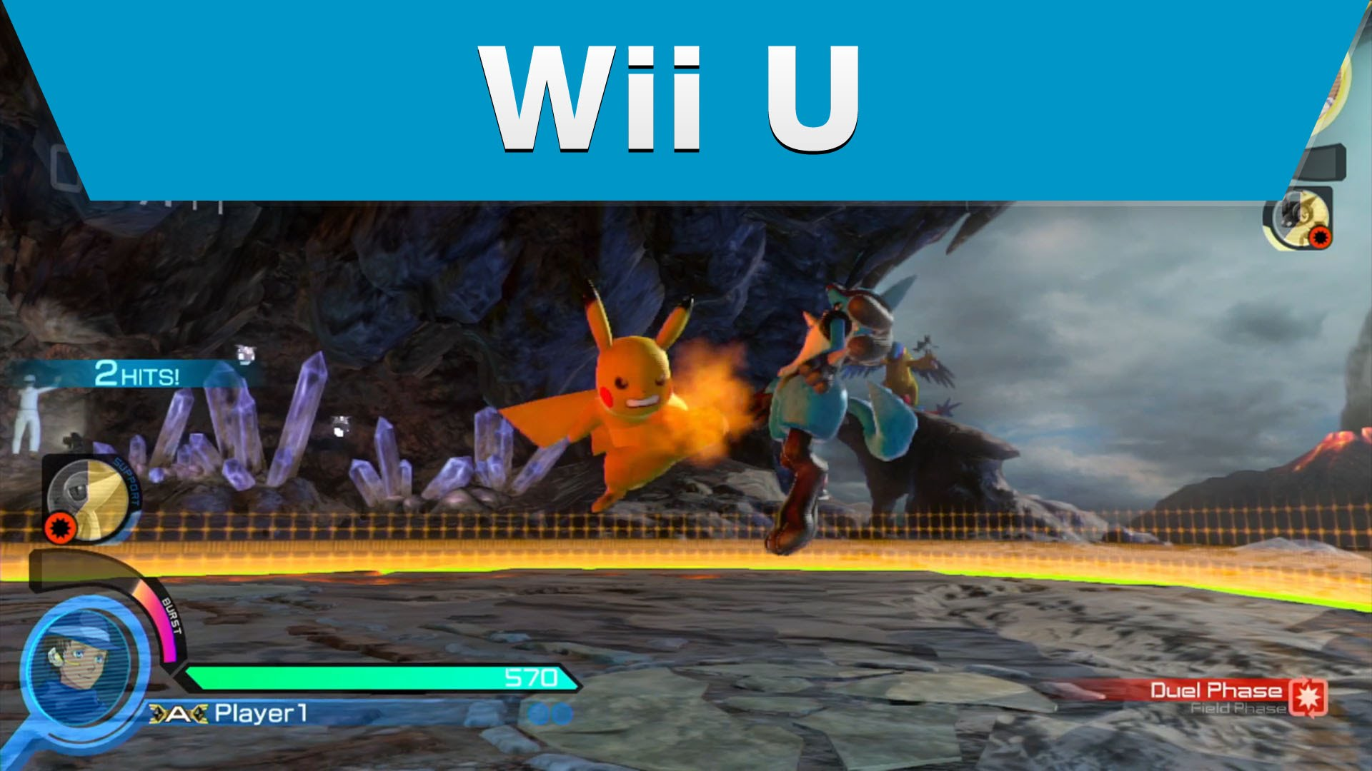 Wii U - Pokkén Tournament - Pokémon are Ready for Battle Trailer