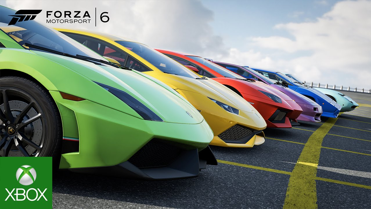 "Lamborghini Centenario as next ""Forza Motorsport"" Cover Car"