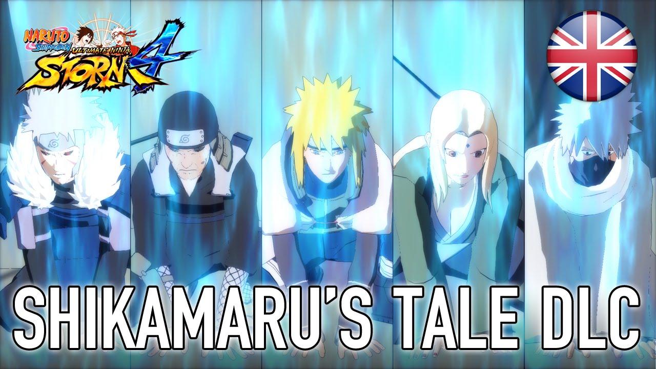 Naruto SUN Storm 4 - Shikamaru's Tale (English)