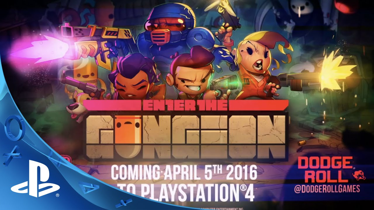 Enter the Gungeon - Gameplay Trailer