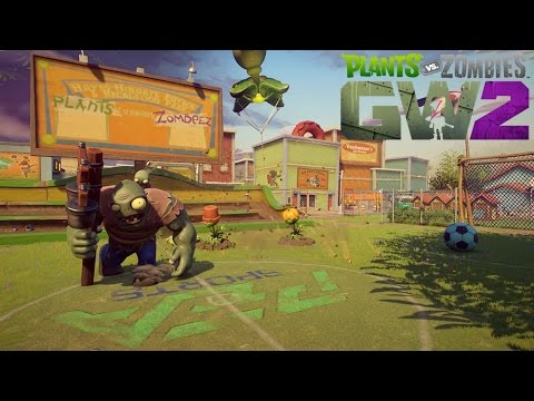 Plants vs. Zombies Garden Warfare 2: Hinterhof-Kampfplatz Gameplay Reveal
