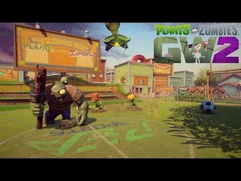 Plants vs. Zombies Garden Warfare 2: Hinterhof-Kampfplatz Gameplay Reveal