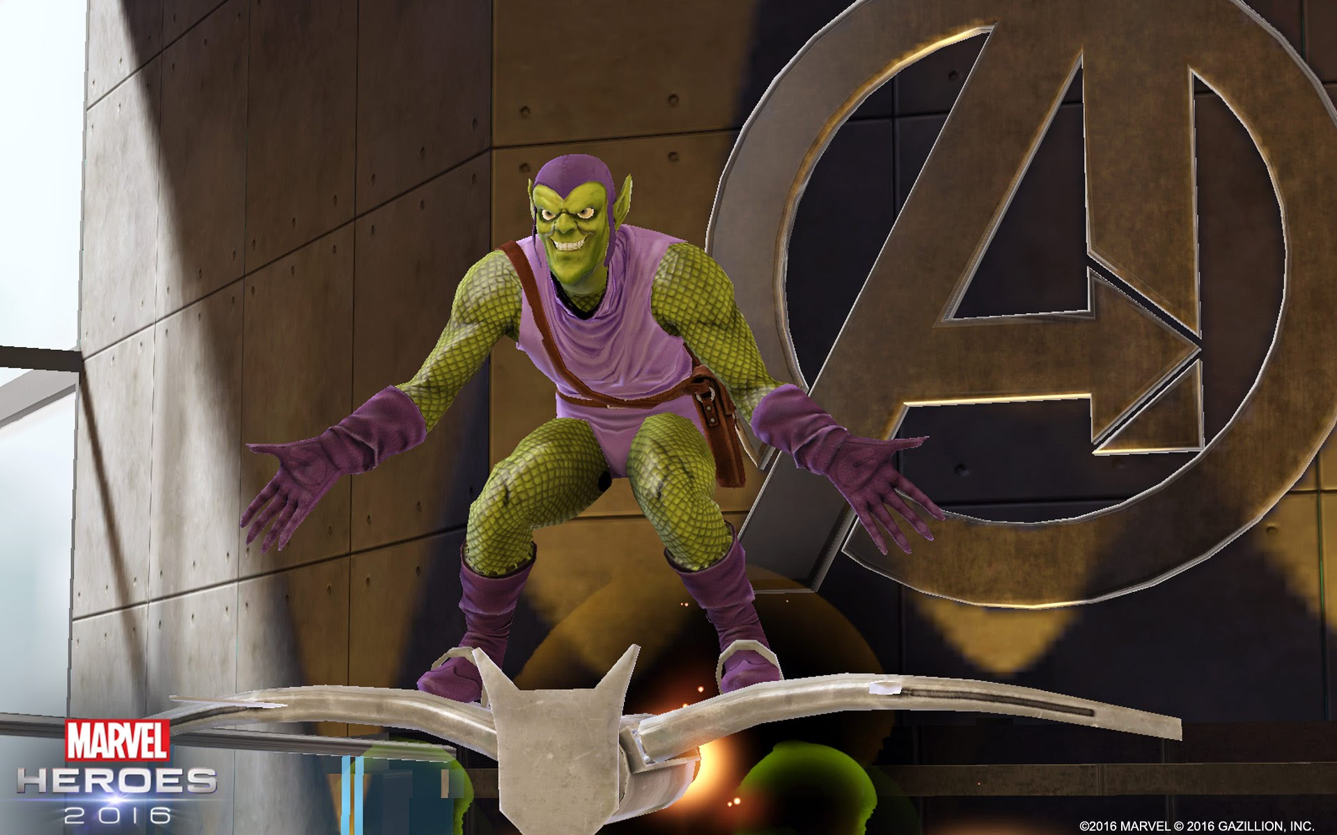 Green Goblin Wreaks Havoc in Marvel Heroes 2016!