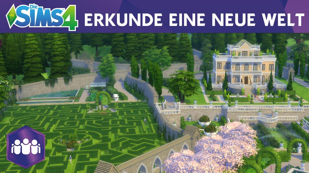Die Sims 4 Zeit für Freunde: Erkunde eine neue Welt - Offizieller Trailer