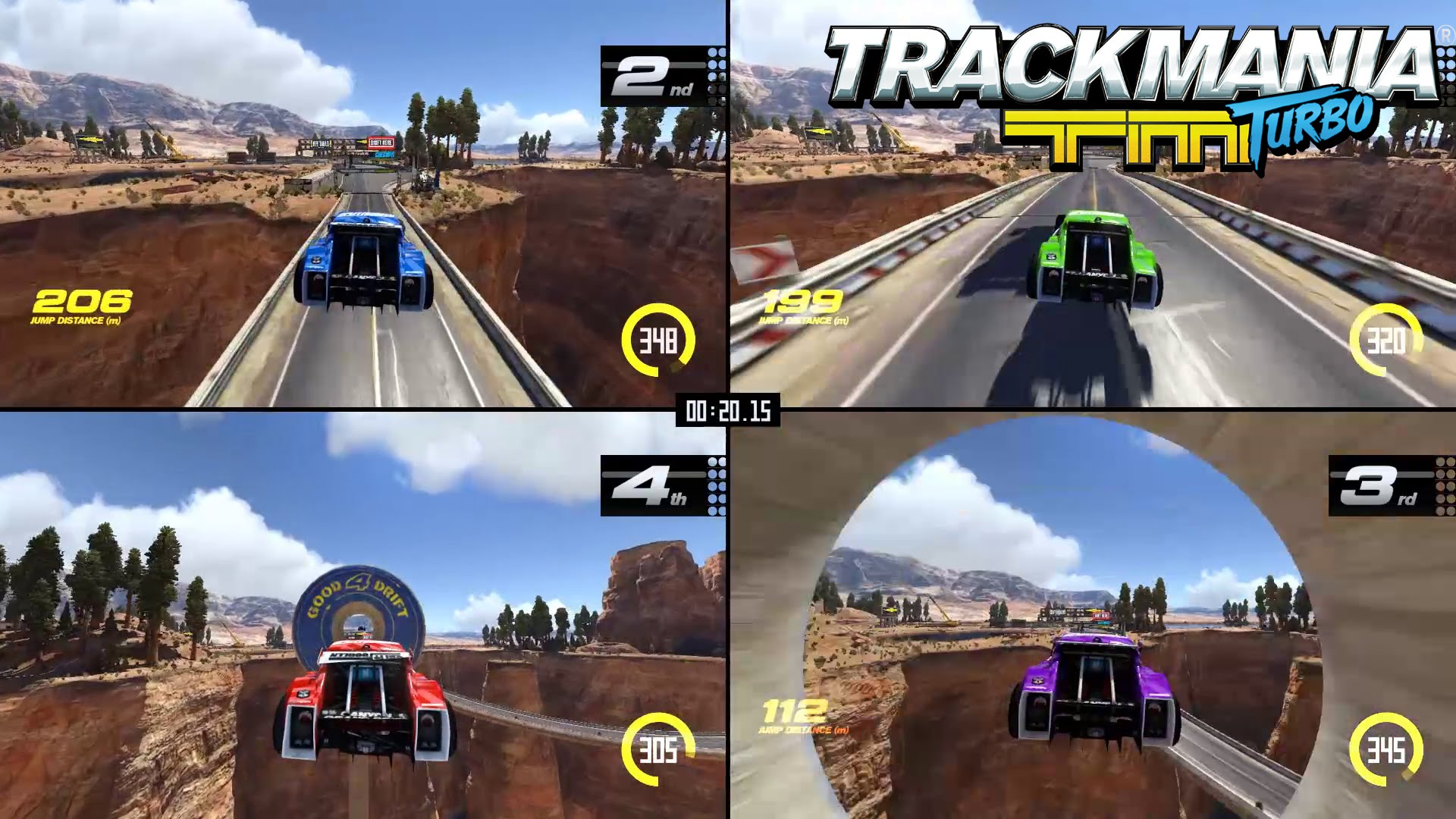 Trackmania Turbo Multiplayer trailer – More drivers, more fun!