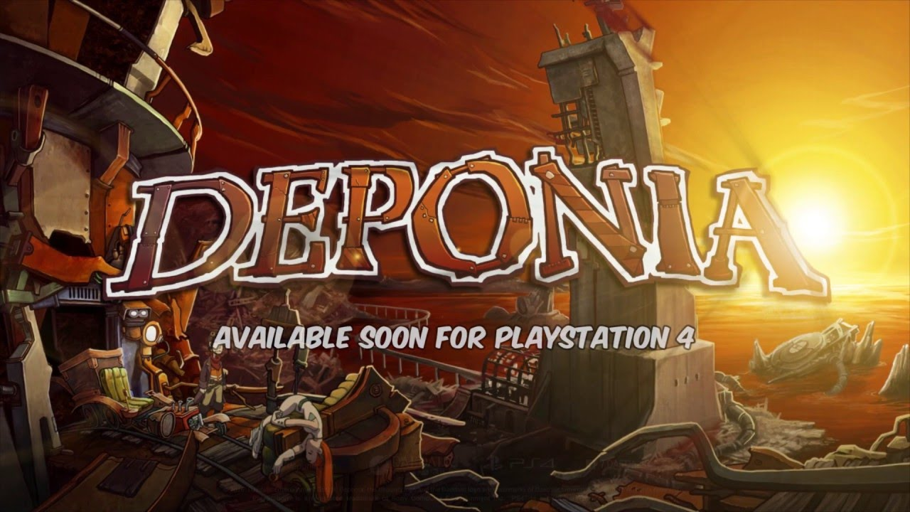 Deponia 1 for PlayStation 4 - Announcement Trailer