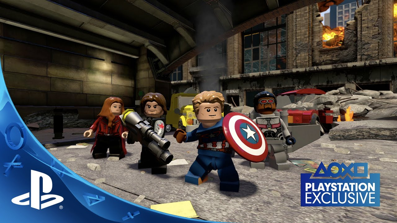 LEGO Marvel's Avengers - Civil War Trailer