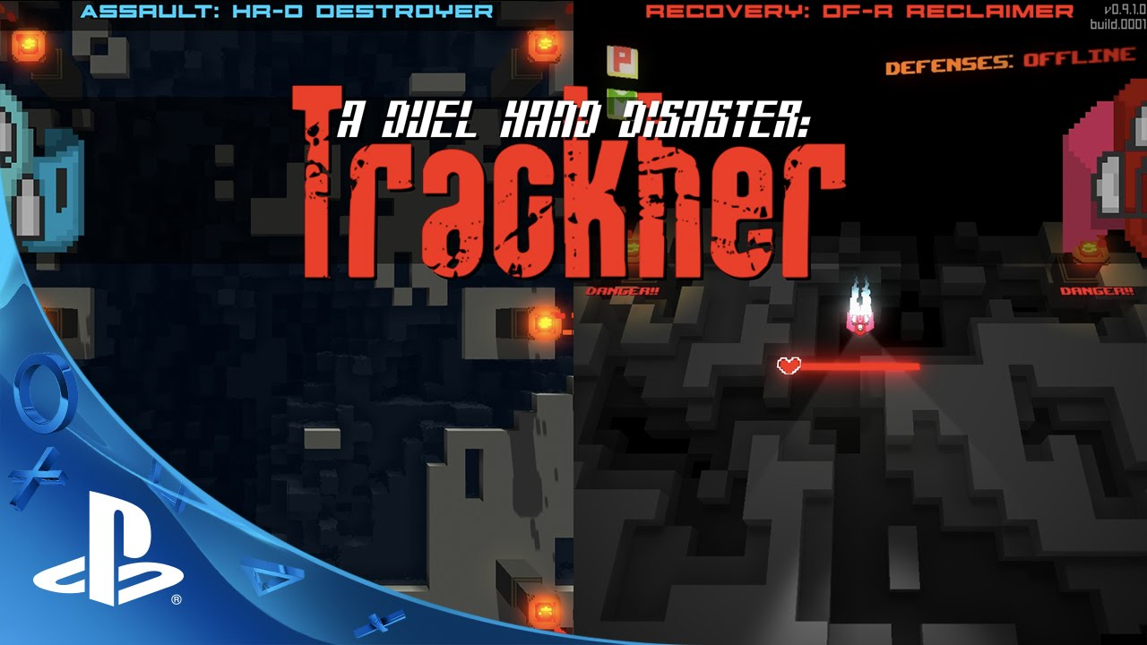 A Duel Hand Disaster: Trackher - Playstation Announcement