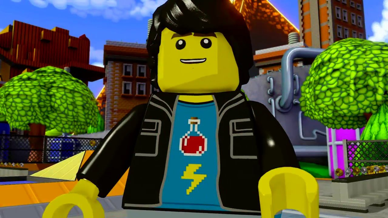 LEGO Dimensions Midway Arcade Gameplay Trailer