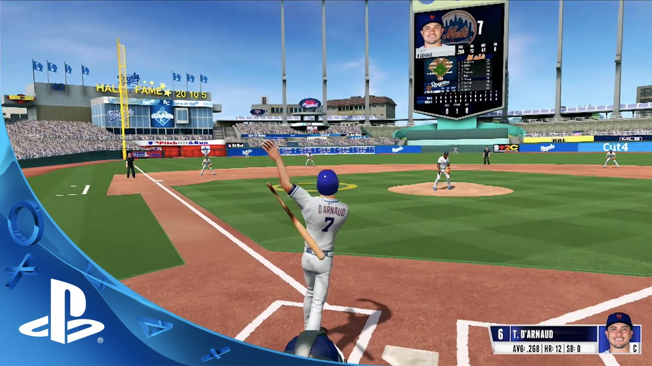 R.B.I. Baseball 16 - Gameplay Trailer