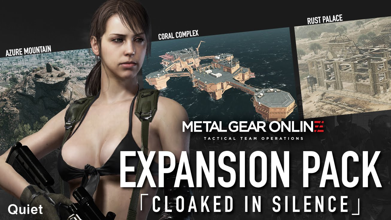 "METAL GEAR ONLINE [BREAK THE SILENCE] - EXPANSION PACK ""CLOAKED IN SILENCE"""