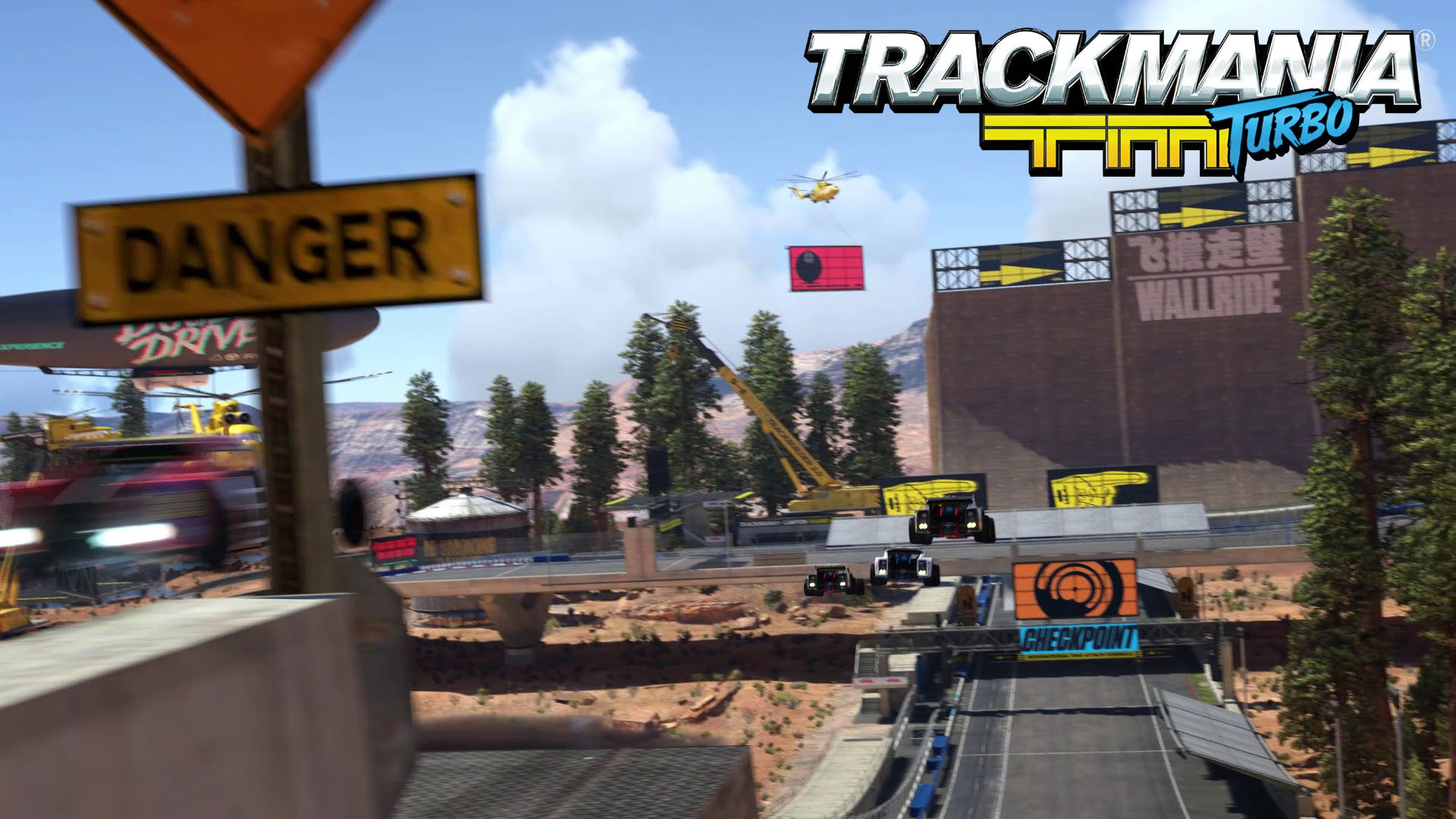 Trackmania Turbo Open Beta Trailer – Test your skills on PS4 & X1!
