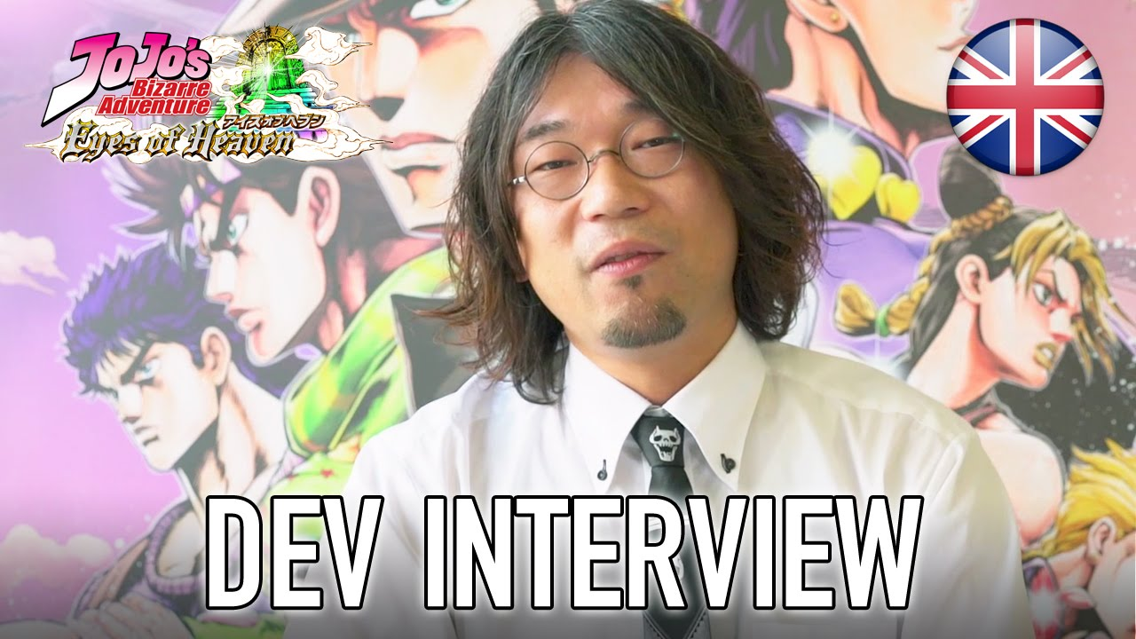 Jojo's Bizarre Adventure Eyes of Heaven - Dev interview (English Video)