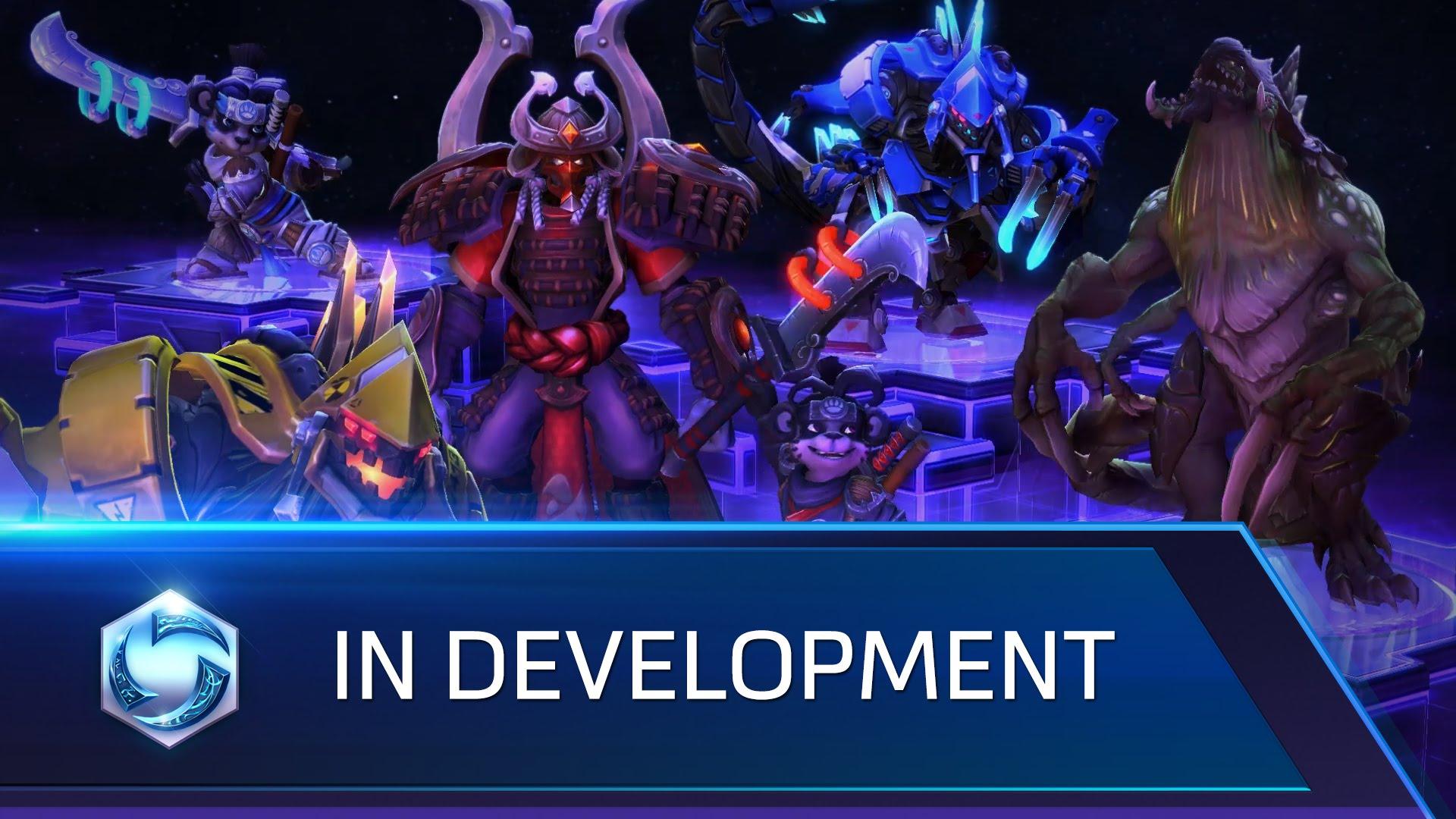 Heroes of the Storm - In Development – Dehaka, Shogun Artanis, and more!