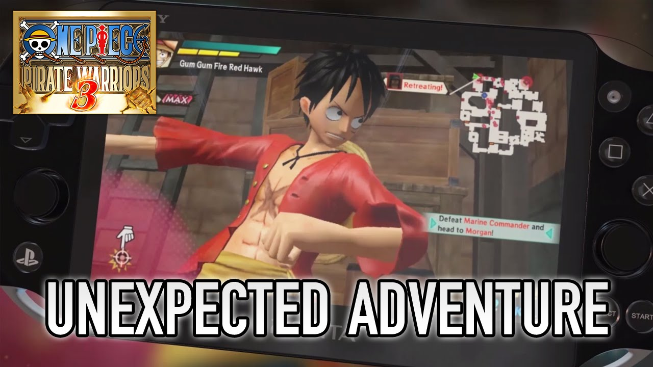 One Piece Pirate Warriors 3 - PS4/PS3/PS Vita/Steam - Unexpected Adventure (EU Trailer)