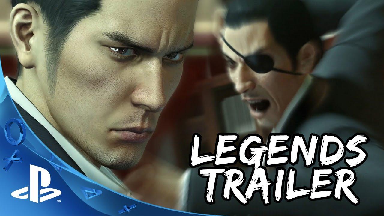 Yakuza 0: Legends Trailer