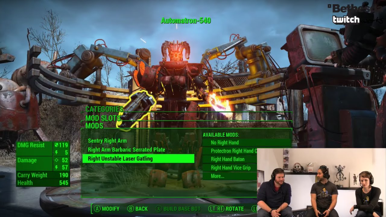 Bethesda Plays Fallout 4 - Automatron (Developer Walkthrough)