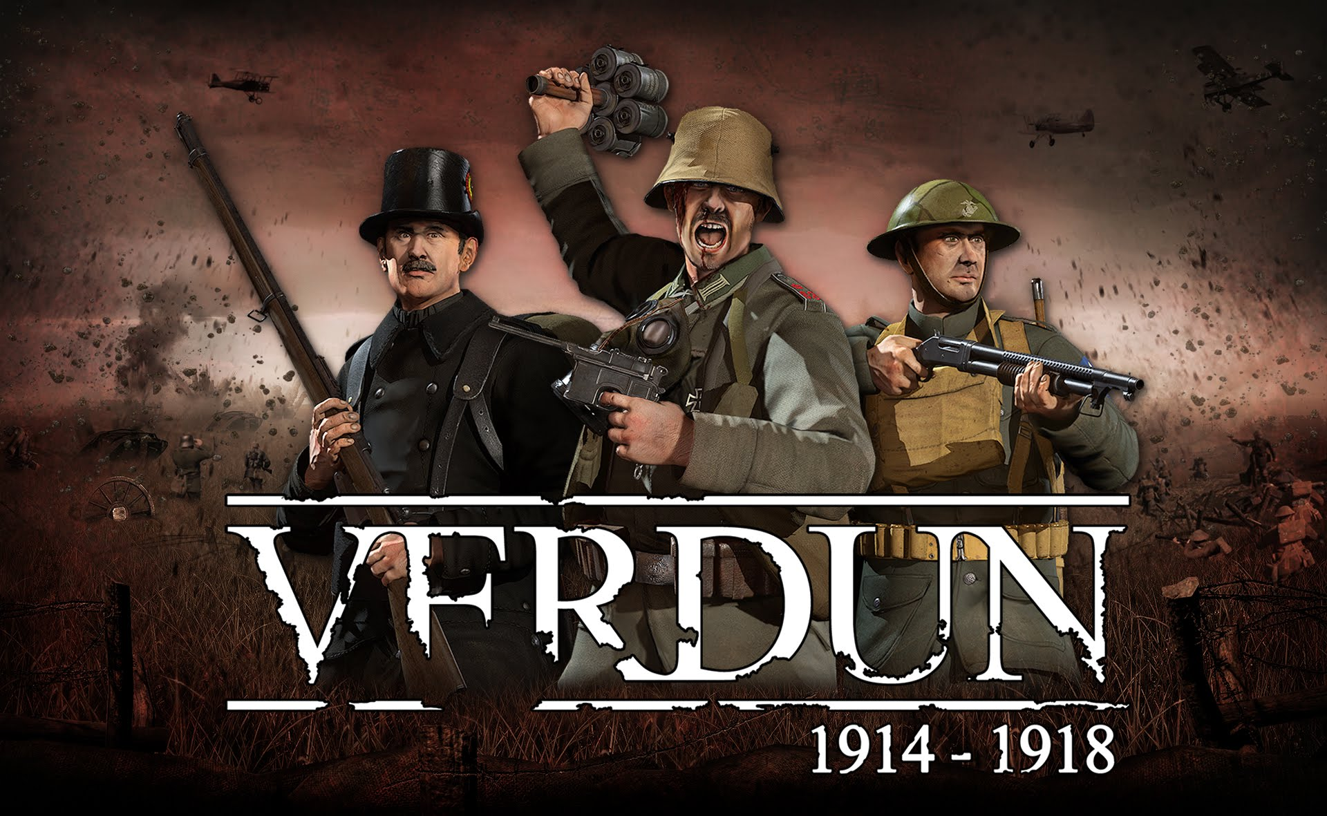 "Verdun Free ""Horrors of War"" Expansion Trailer"