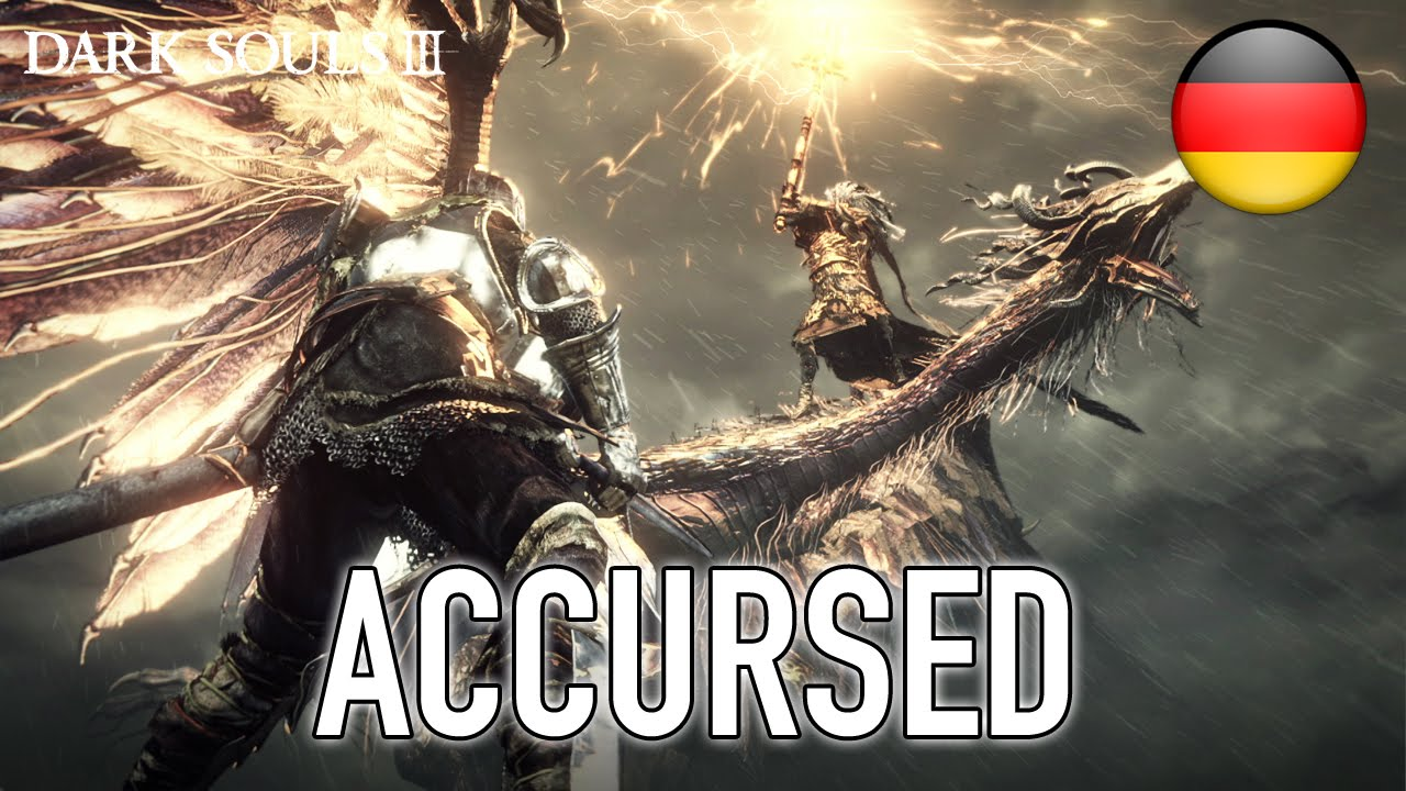 Dark Souls 3 - Accursed (Launch Trailer) (German)