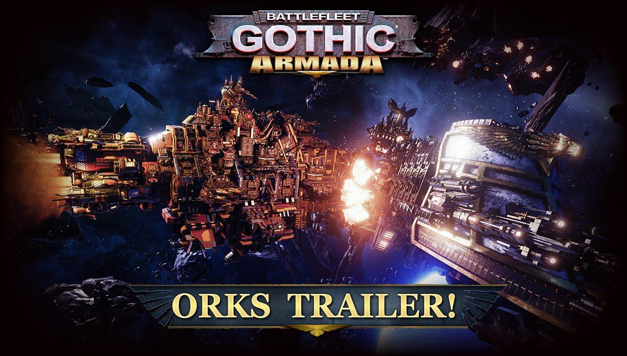Battlefleet Gothic: Armada - Orks Trailer