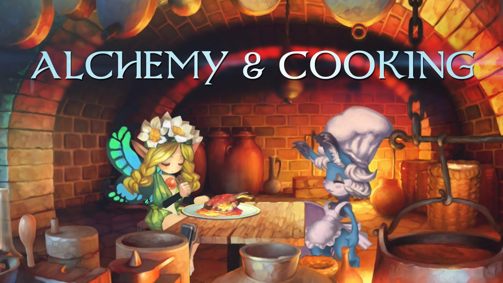 Alchemy and Cooking in Odin Sphere Leifthrasir